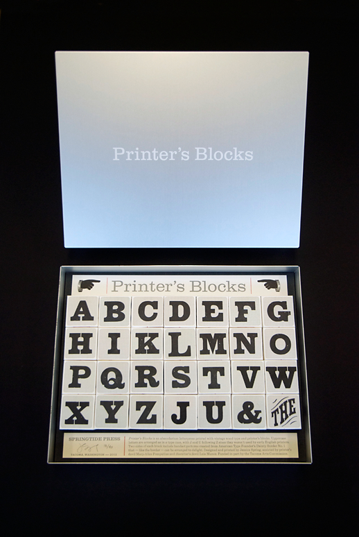 Jessica Spring - Printer's Blocks
