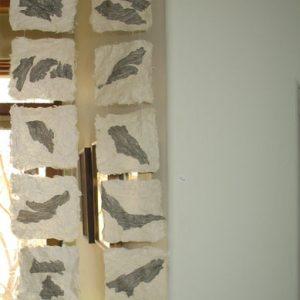 Mary Ellen Long - Wasp Washi scrolls